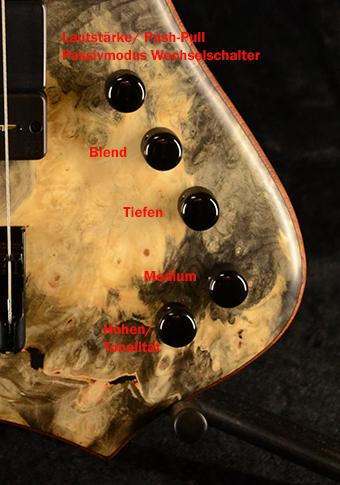 Glockenklang 3-Band Vorverstärker